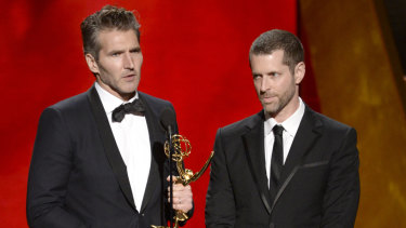 Game of Thrones producers David Benioff and D.B. Weiss.