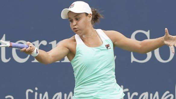 Halep downs Barty in Cincinnati Open