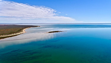 Giralia Bay, in Western Australia's north west, has been attracting a different sort of clientelle post COVID-19.