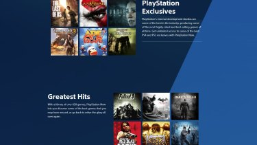 PlayStation Now offers more than 650 games, if your internet can handle it.
