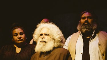 Uncle Jack Charles in La Mama's Coranderrk: We Will Show the Country.