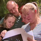 Cam Smith's sister Taylah, father Michael, sister Chantelle and mother Michelle remembered their loved one on Thursday.