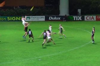 Jack Boyd flies high!