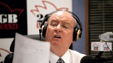 Macquarie Media's 2GB host Alan Jones.