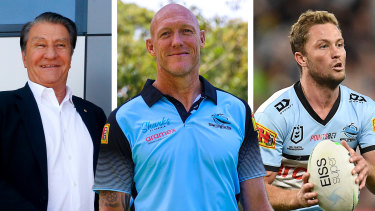 Craig Fitzgibbon was worried about being paraded in Cronulla colours while still being paid by the Roosters.