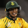 South Africa upset England for shock T20 World Cup win