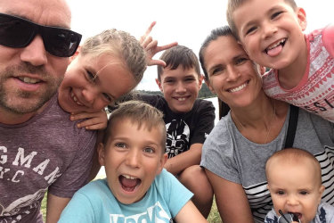 Deanne Vowles and her family are stuck in Britain.