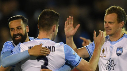 Warland the winner as Sydney FC nears Asian Champions League chop