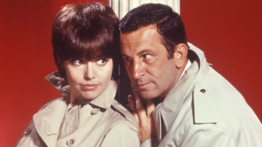 Barbara Feldon's Agent 99, with Don Adams.