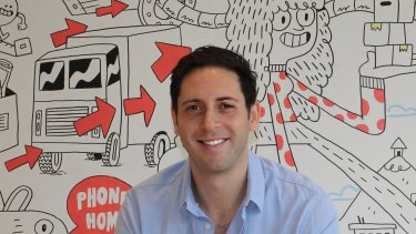 Updater chief executive and founder David Greenberg has no regrets about leaving the ASX.