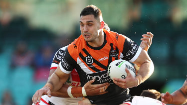 Ryan Matterson has been criticised for the handling of his efforts to leave the Tigers.