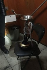 Wyndham Police issued three COVID-19 infringement notices to a group of friends who were found smoking a shisha in a public toilet.