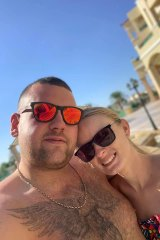 English couple Thomas Cook and Amelia Binch's Greek wedding plans have been thrown into disarray after the collapse of Thomas Cook Group.