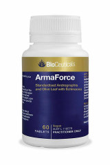 ArmaForce contains andrographis, which causes a loss of taste in some people, especially with high doses or prolonged use.
