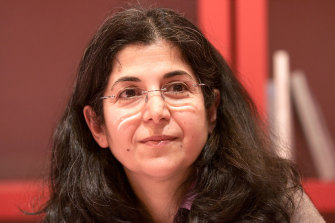 French-Iranian anthropologist and academic Fariba Adelkhah, who is currently detained in Iran.