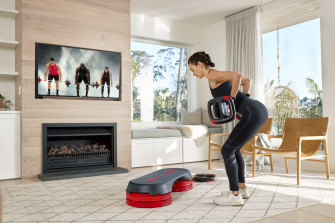 Les Mills On Demand is like a gym in your home.