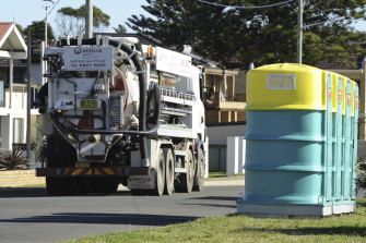 A portable toilet was installed on the site for a female worker after the union complained.