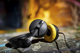 Sennheiser is releasing a limited edition retro-coloured set of HD 25 headphones to mark its anniversary.