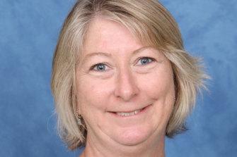 Mathematics teacher Cheryl Rix.
