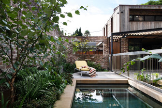 The natural pool.