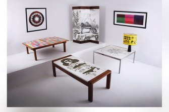 A roomful of DANAD designs.