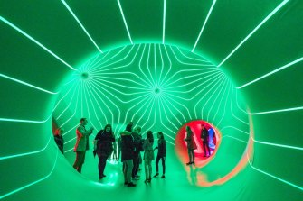 Trippy: Dodecalis Luminarium by Architects of Air.