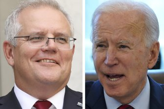 Scott Morrison will be expected to travel to Washington, DC if the talks are held in person, potentially making his first meeting with US President Joe Biden on the fraught issue of climate change.