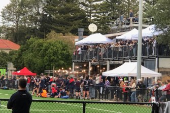 Easts president John Murray said the event was fully ticketed and entirely within COVID-19 restrictions.
