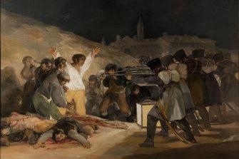 Francisco Goya's The Third of May, 1808.