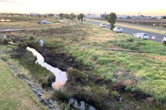 The Paisley Challis Drain was heavily contaminated.