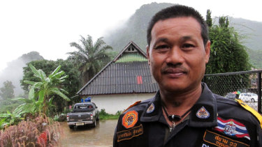 Thawatchai, the leader of the volunteer group.