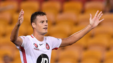 Is this goodbye?: Oriol Riera appears set to exit the Wanderers.