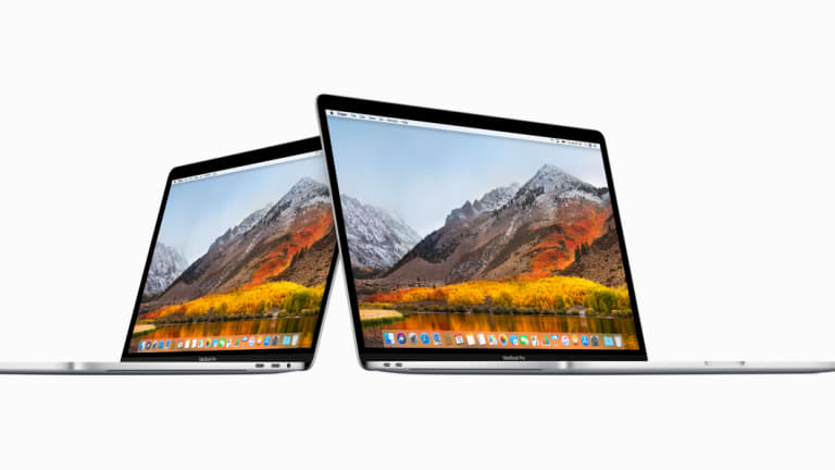 The high end model of Apple's new MacBook Pro features a Core i9 processor.