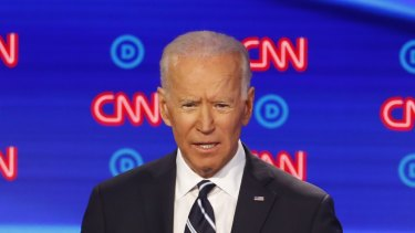 Former vice-president Joe Biden said he would implement a gun buyback program if elected president in 2020.