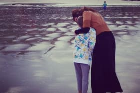 Every day, my 16-year-old visits the stranger who saved him, and me