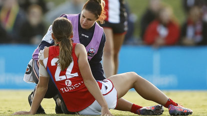 Knee toll mounts in AFLW as fourth Demon ruptures ACL