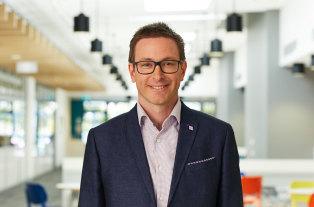 Dr Alex Hains, regional manager of the Illawarra Shoalhaven Suicide Prevention Collaborative.