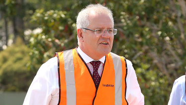 Prime Minister Scott Morrison says the extra infrastructure spending will deliver long-term benefits.