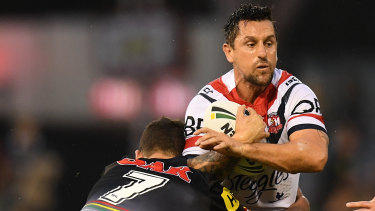 Co-exist: Ivan Cleary is confident son Nathan (left) can operate alongside fellow half Mitchell Pearce