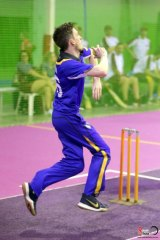ACT Rockets all-rounder Brock Winkler at the nationals championships.