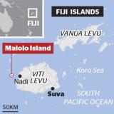 Malolo Island in Fiji.