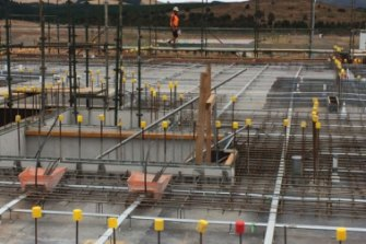 The number of complaints about non-compliant construction work in Canberra soared last fiscal year.