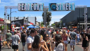The Beaufort Street Festival was run by the Beaufort Street Network, which was the first 'Town Team', now part of the Town Team Movement.