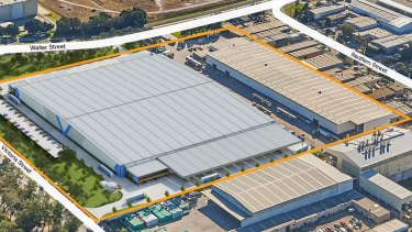 The large building will comprise the purpose-built Marley Spoon facility and an adjoining 12,200sq m premium grade space.