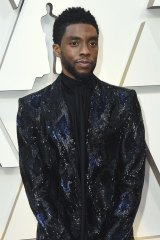 Chadwick Boseman, nominated posthumously for a Golden Globe.