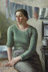 Nora Heysen, Down and Out in London,  1937.