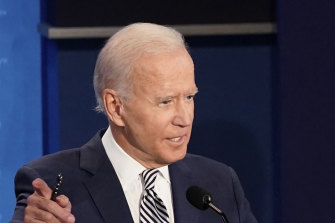 Democratic presidential candidate Joe Biden referred to Donald Trump as a clown.