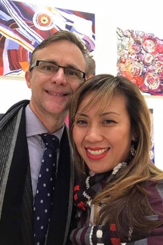 Stephen Doyle and his wife Liza Choa-Doyle bought a $4.6 million penthouse on the day Nuix listed on  the ASX.
