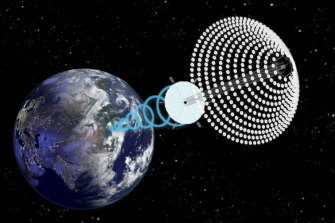 Is the time right for space-based solar power? The platform proposed by Solar Space Technologies.