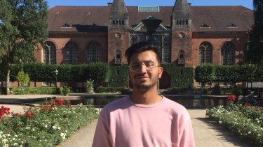 Pranay Jha attended The King's School and often felt like the odd one out at the majority Anglo school.